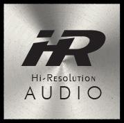 HRハイレゾハイレゾリューションサウンド