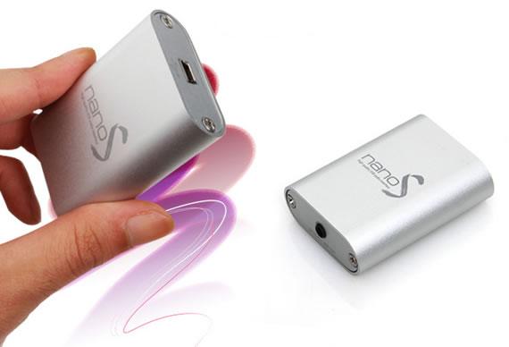 本格スペック小型ヘッドフォンアンプ JAVS nano/S nano/V