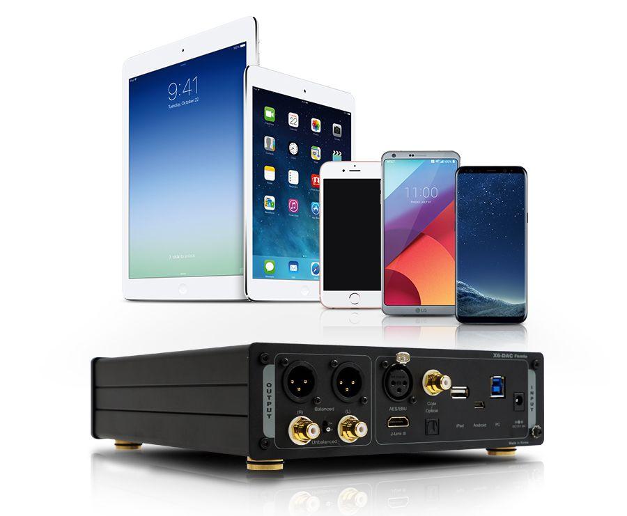 X6-DAC-femtoとスマートフォン