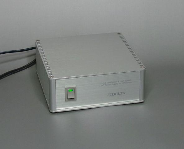 オーディオ用超低ノイズACアダプター電源 FIDELIX FL-AC-zn-12S