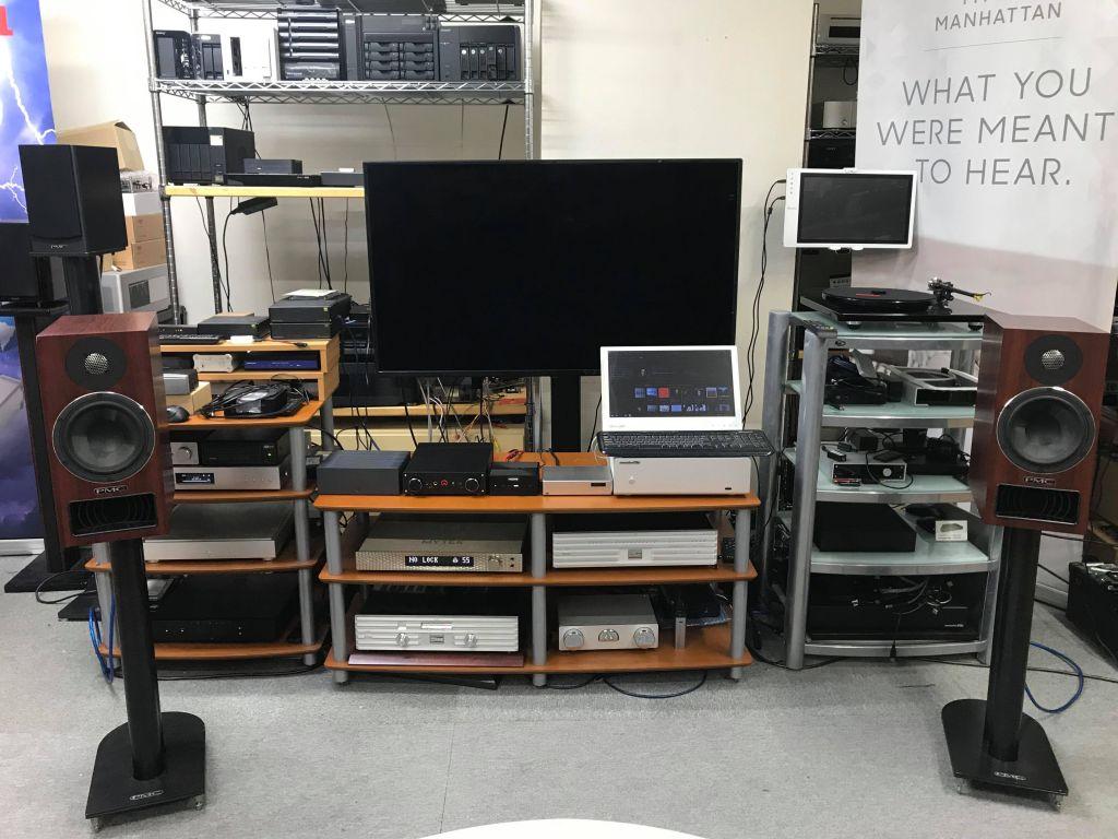 オリオスペックさん・X7-DAC-Femto-MQA試聴展示開始