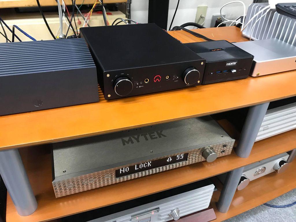 オリオスペックX7-DAC-Femto-MQA試聴展示