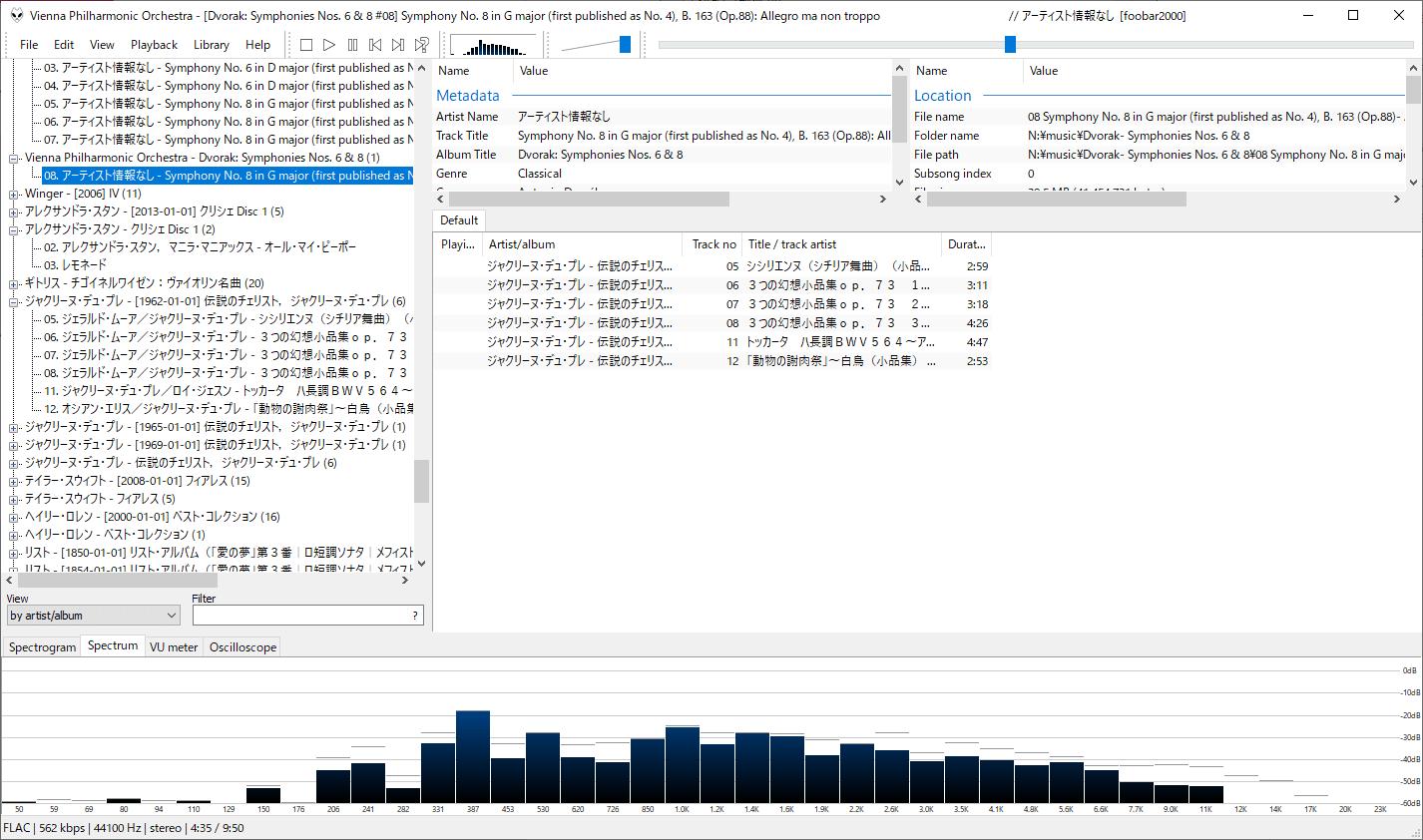 Foobar2000:バージョン1.4.7