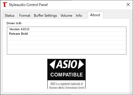 手軽なUSBサウンド・高音質なUSBオーディオ(Styleaudio Windowsドライバー v4.82) 2