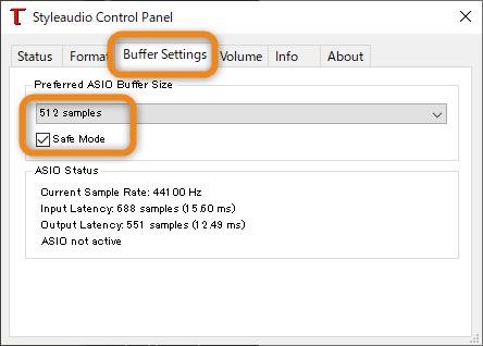 手軽なUSBサウンド・高音質なUSBオーディオ(Styleaudio Windowsドライバー v4.82) 3