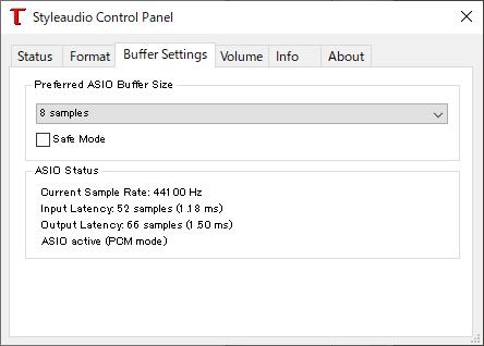 手軽なUSBサウンド・高音質なUSBオーディオ(Styleaudio Windowsドライバー v4.82) 4