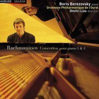 Boris Berezovsky、Dmitry Liss、 Ural Philharmonic Orchestra Rhapsodie sur un theme de Paganini Rachmaninov:Concertos pour piano 1&4